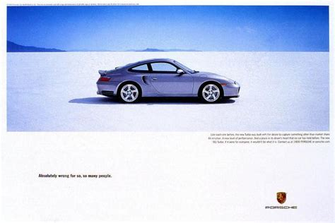 Old And New Porsche Adverts