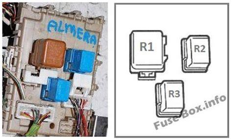 fuse box diagrams gt nissan almera ii n16 2000 2006