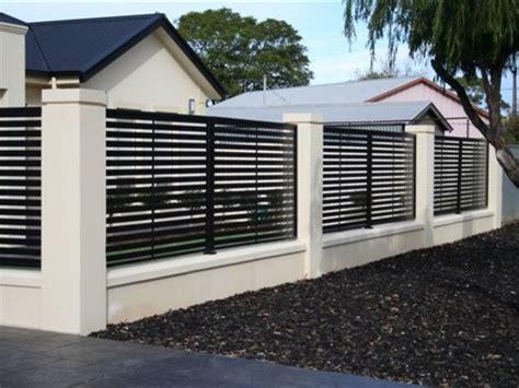 beautiful minimalist home fence color  ideas
