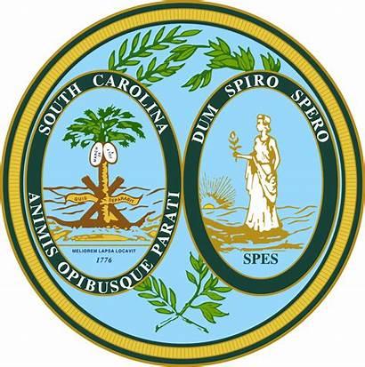 Carolina South State Wikipedia Secretary Seal Svg