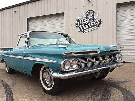 gas monkey garage cars for gas monkey garage car 3 1959 chevrolet el camino ebay