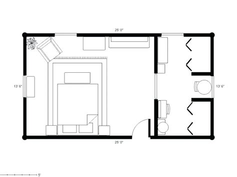 Small Master Bedroom Addition Floor Plans Savaeorg