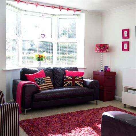 colourful living room ideas     ideal home