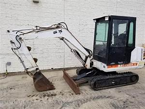 Bobcat X231 Hydraulic Excavator Service Repair Manual Sn