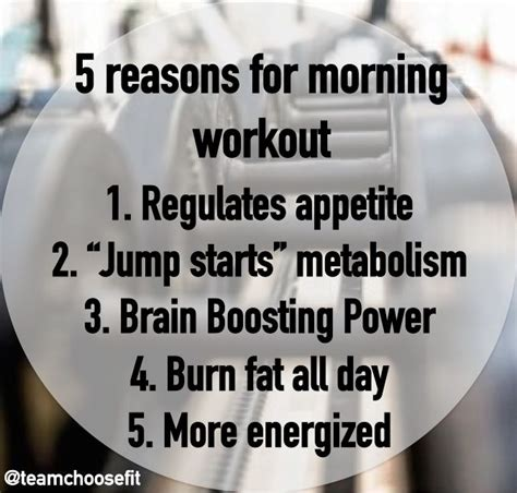 benefits  morning workout     mind
