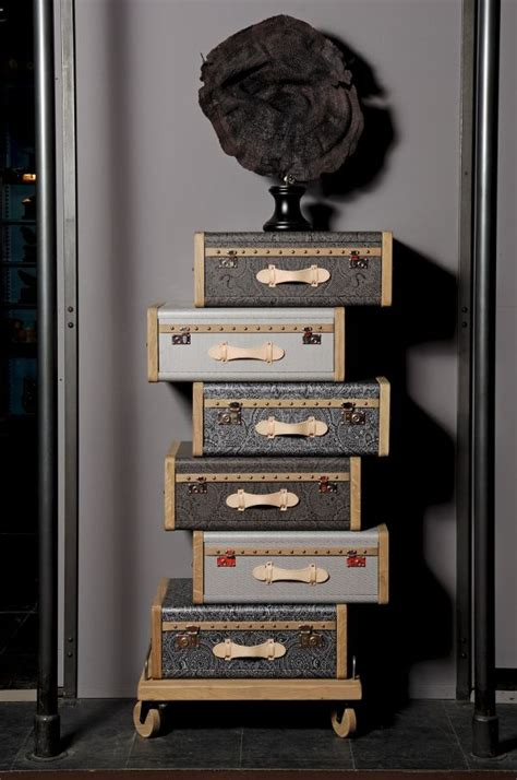 vintage luggage furniture collection to remember times