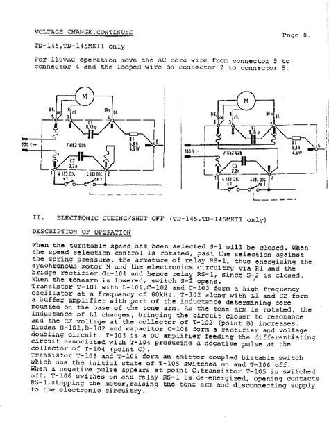 thorens td 145 160 165 service manual schematics eeprom repair info for electronics svcman 145 160 165