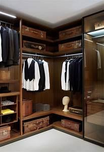 Begehbarer Kleiderschrank Design : begehbarer kleiderschrank wandmontage modern holz high end dressing room porro ~ Frokenaadalensverden.com Haus und Dekorationen