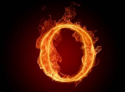 Fire Letter Flame Lit Wallpapers