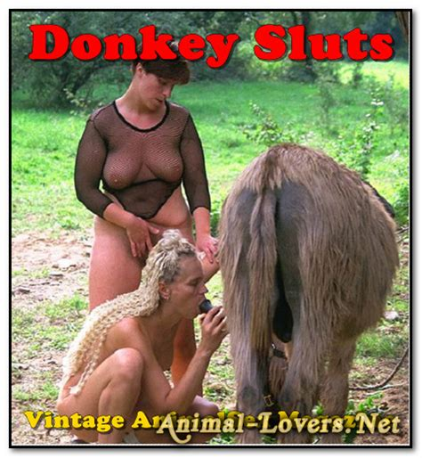 Vintage Animalsex Magazine Donkey Sluts Animal Lovers Cloudy