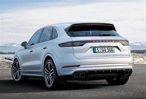 2018 Porsche Cayenne Turbo Unveiled At Frankfurt Show