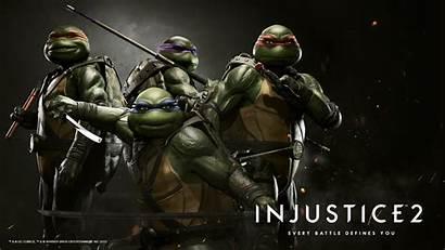Tmnt Injustice Ninja Wallpapers Desktop Iphone Michelangelo