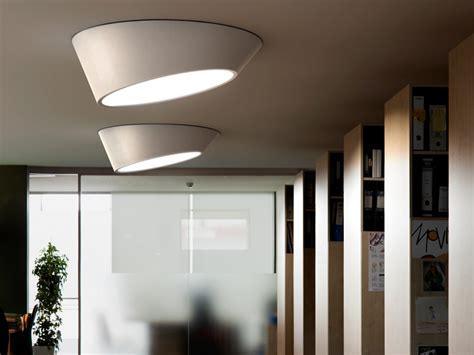 Vibia Plus Ceiling Lamps Offering a Diffuse and Even Light