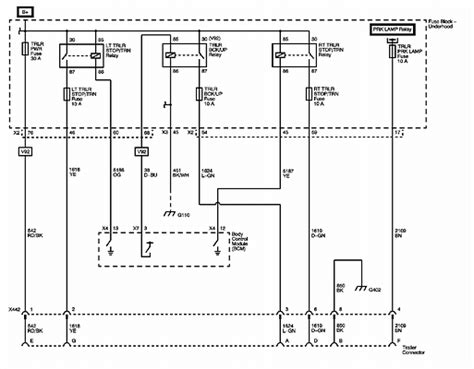 2013 Gmc Trailer Wiring Diagram by The Back Up L Wire On My Factory Installed Trailer Tow