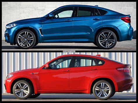 Photo Comparison F86 Bmw X6 M Vs E71 Bmw X6 M