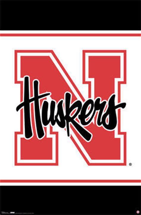 nebraska cornhuskers football team logo posters prints