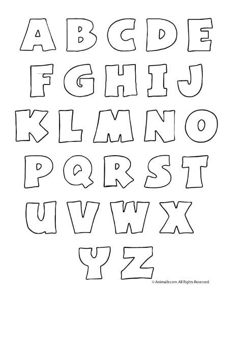 printable alphabet bubble letters templates