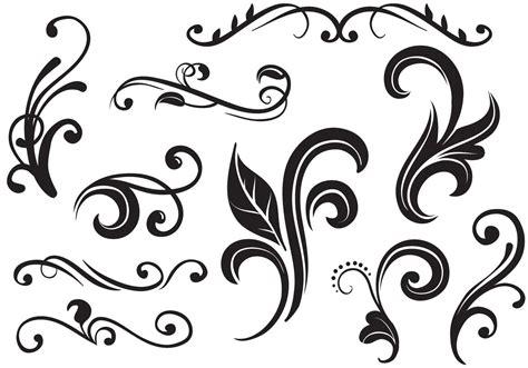 free vector design free flourishes vectors free vector stock
