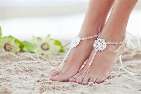 Wedding Foot Jewelry Barefoot Sandal By Passionflowerjewelry