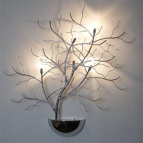 wall light tree l wall l halogen lights chrome