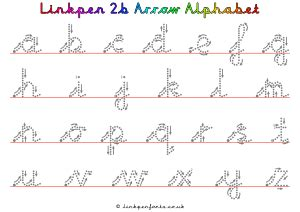 handwriting resources  linkpen  letter style
