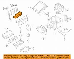 2018 Nissan Armada Fuse Box Diagram
