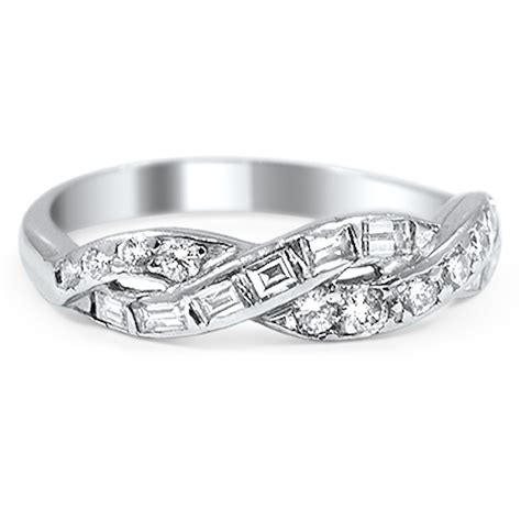 brilliant earth una wedding ring with interwoven ribbons