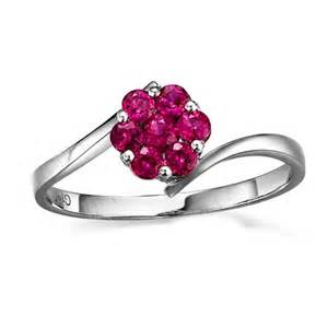 ruby wedding band beautiful ruby wedding ring on 10k white gold jewelocean