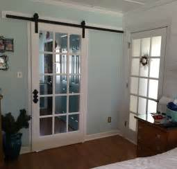 Sliding Closet Door Track by Diy Barn Door Ideas Home Decor Inspiration