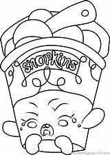 Coloring Ice Cream Shopkins Dream Pages Shopkin Printable Getcolorings Coloringpages101 Template sketch template