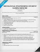 Engineering Student Sample Resume For Experienced Mechanical Engineer Mechanical Engineer Sample Resume Mechanical Engineer Resume Template Engineering Free Resume Templates Download Entry Level Resume Template Download