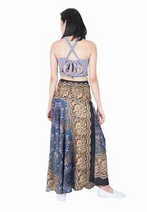Lofbaz Womenu2019s Bohemian Boho Hippie Gypsy Long Skirts Dresses