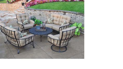 50 meadowcraft vinings seating wrought iron patio furniture marina pool spa patio