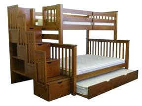 Xl Twin Bunk Beds by Best Bunk Beds With Stairs The 10 Top Rated Bunk Beds