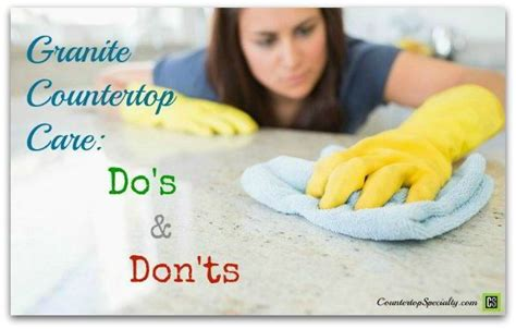 What Do You Seal Granite Countertops With - 25 best ideas about cleaning granite countertops on