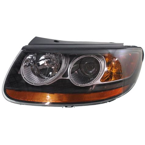 headlight for 2007 hyundai santa fe driver side w bulb ebay