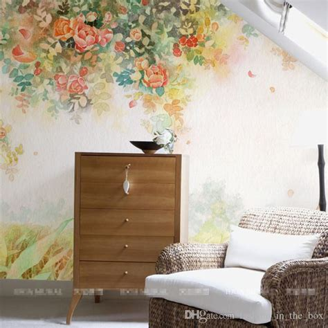 elegant photo wallpaper rose flower wall murals custom wallpaper kids bedroom living room