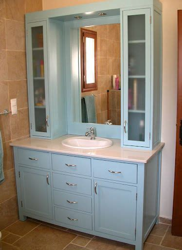 Bathroom vanity with upper cabinets   Bathroom .ideas
