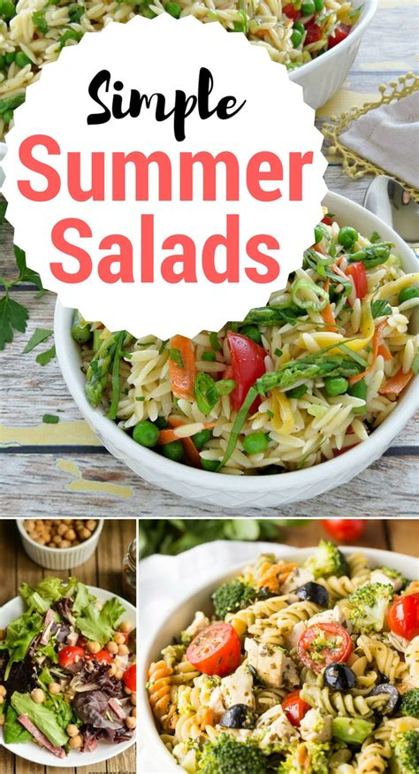 simple summer salads 16 amazingly simple summer salads inspiration monday scattered thoughts of a crafty mom by