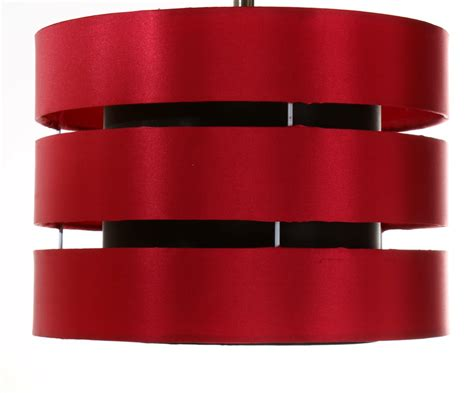 red and black l shade 12 roma faux silk ceiling shade table l red and black
