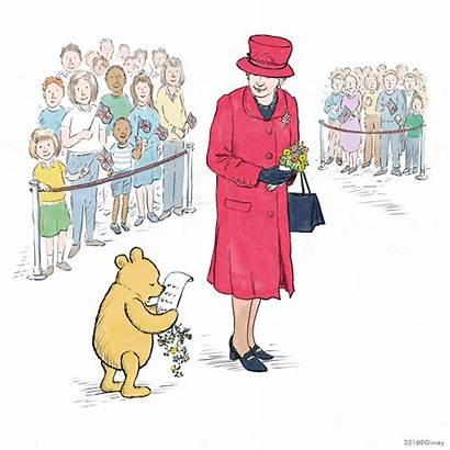 Pooh Birthday Queen Winnie Elizabeth Disney Royal