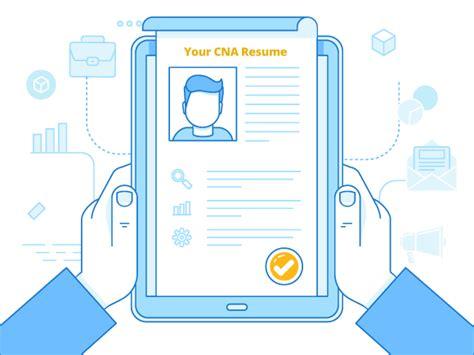 write  winning cna resume objectives skills