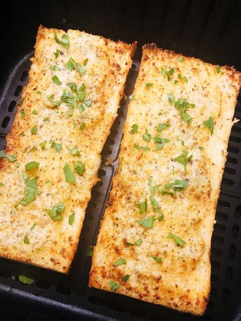 fryer air garlic bread homemade