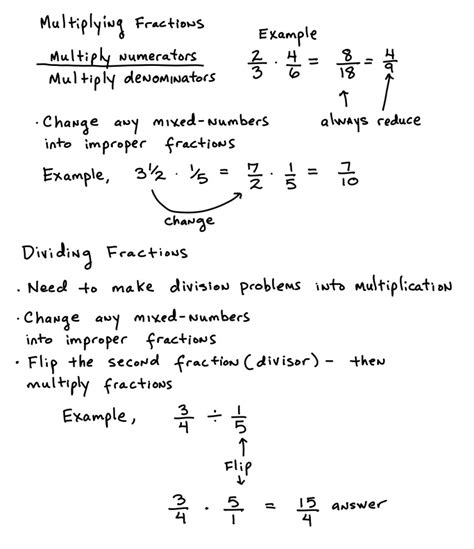 Multiplying And Dividing Fractions  Learning Algebra Can Be Easy