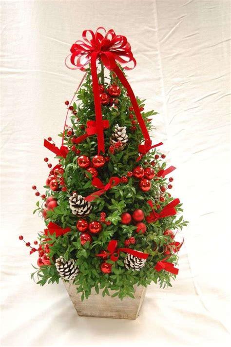 decoracion de arboles con cinta d 233 co de sapin de no 235 l avec rubans conseils pratiques