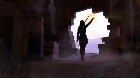lara croft tomb raider  hd games  wallpapers