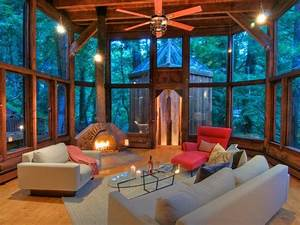 World of Architecture: Tree House In The Forest, Mill ...
