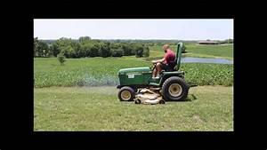 John Deere 855 Mfwd Garden Tractor For Sale