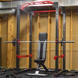 Power Cage And Olympic Weight Lifting Set