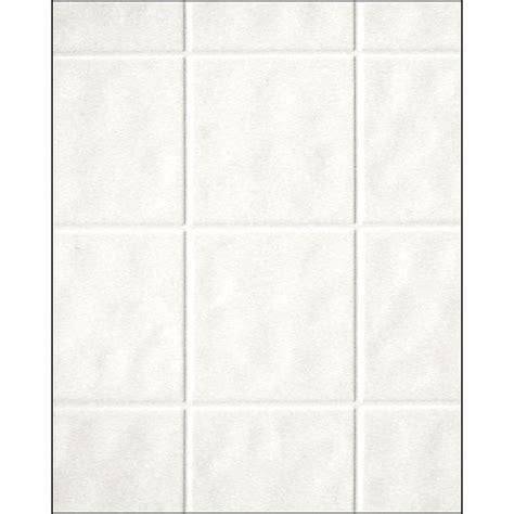 aquatile 18 in x 48 in x 96 in toned white tileboard